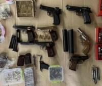 На Одесчине СБУ изъяла оружие и боеприпасы