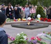 День победы: в Николаеве собрали несколько акций, марш и флешмоб