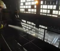 На Донетчине два часа тушили пожар на Славянской ТЭС