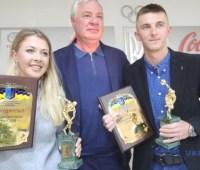 Джима и Пидручный получили от НОК Украины награды лучшим спортсменам месяца