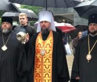 Епифаний в Ривном молитвой почтил Небесную Сотню и украинских воинов