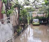 В западных областях остаются подтопленными десятки домов