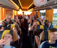 В Австрию на отдых приехали полсотни детей погибших и раненых бойцов АТО/ООС