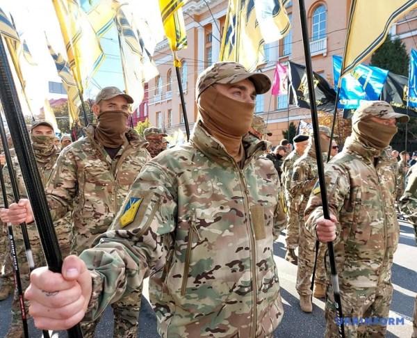 У Києві проходить традиційний марш УПА
