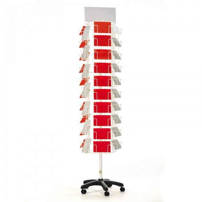 Postcard 6x4 Spinner 6 Sided Card Display Stands
