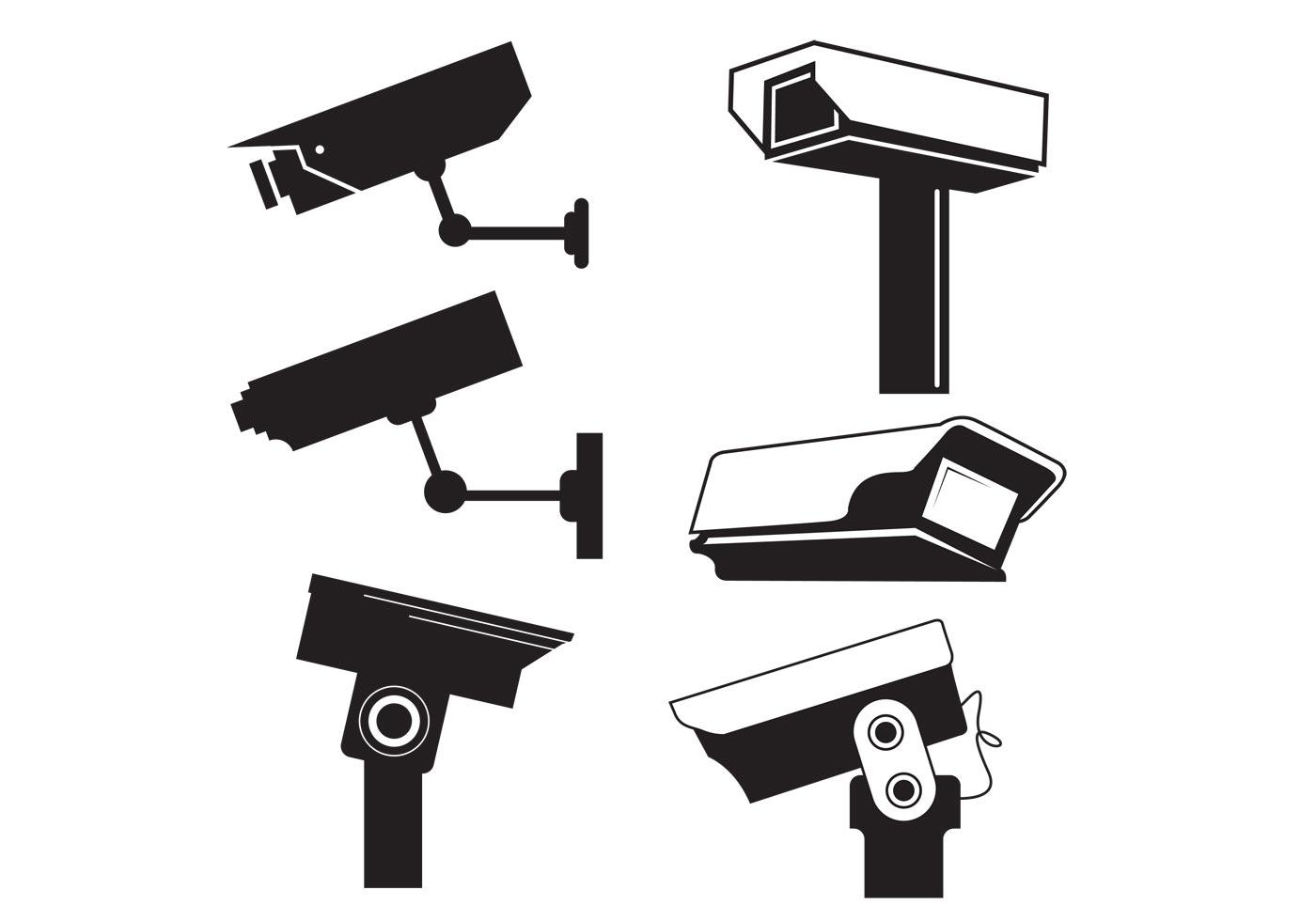 Security Camera Free Vector Art