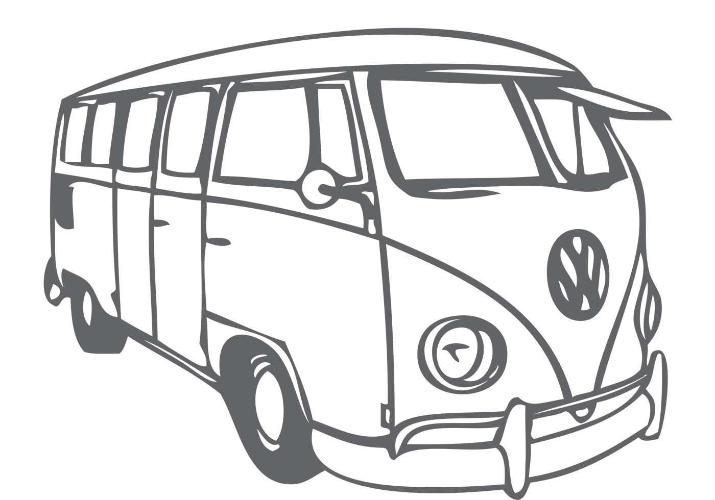 california vw van