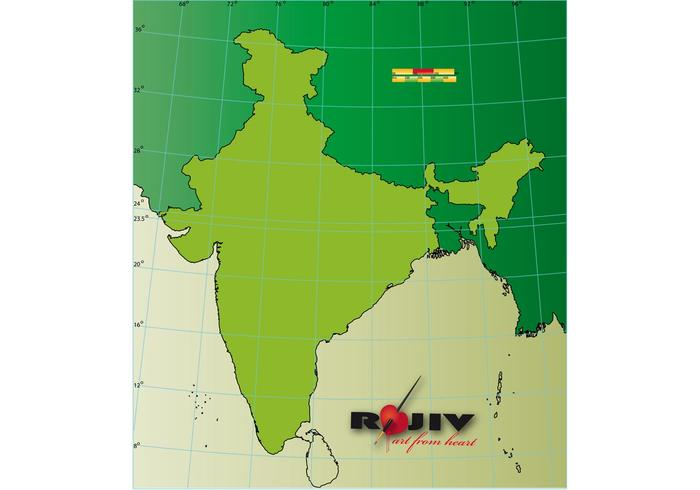 India map outline   Download Free Vector Art  Stock Graphics   Images India map outline