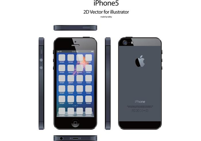 iphone5 free vector for illustrator Free Apple Iphone Wallpaper