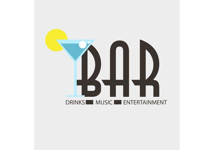 Free Vector Of The Day #164: Bar Logo