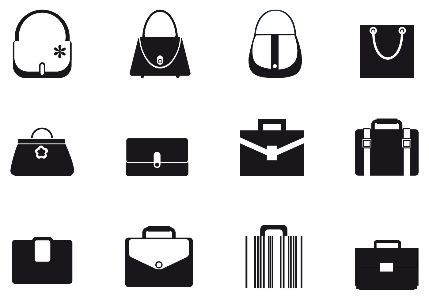 Bags And Purses Vector Pack