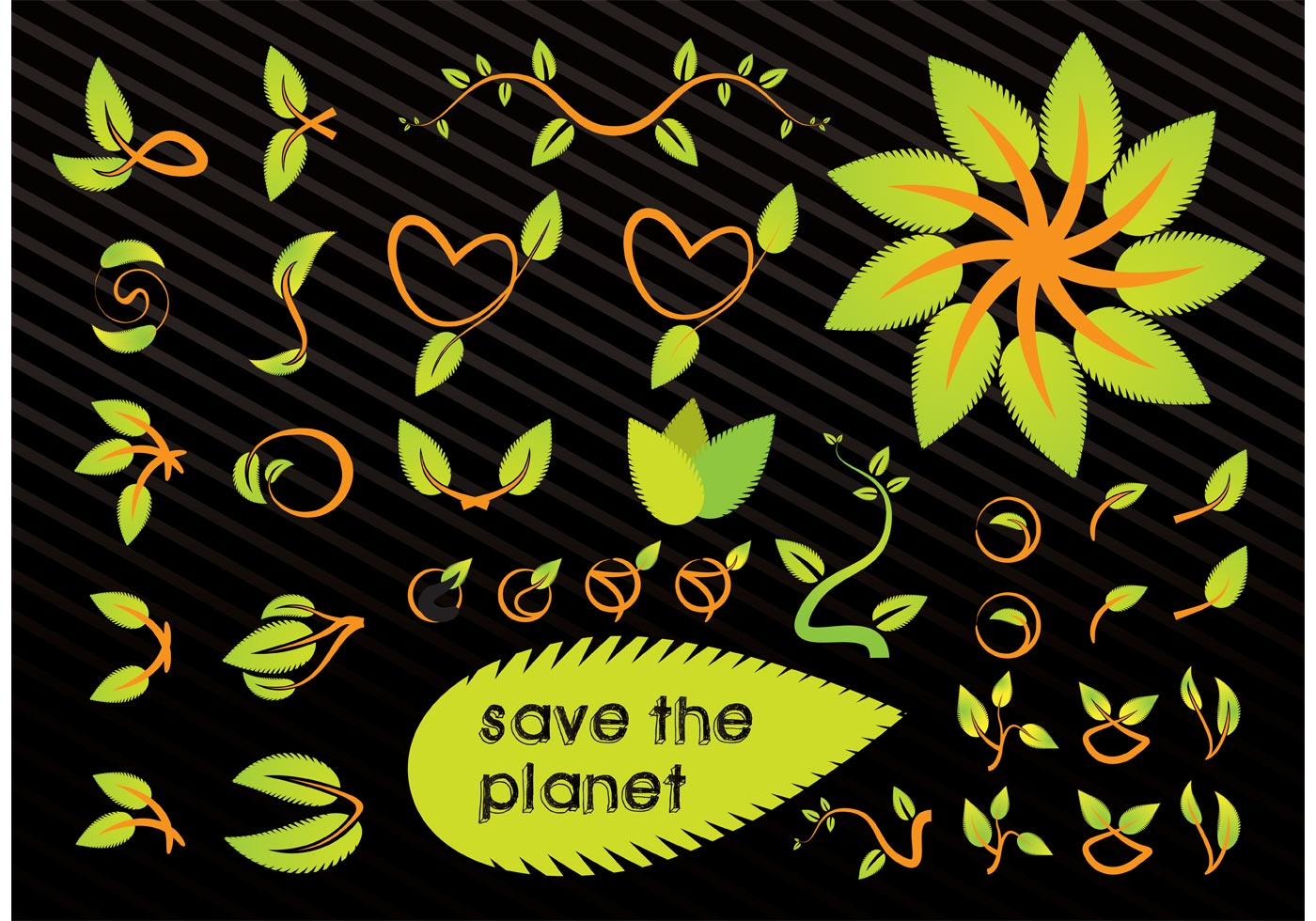 Save The Planet Vector Graphics