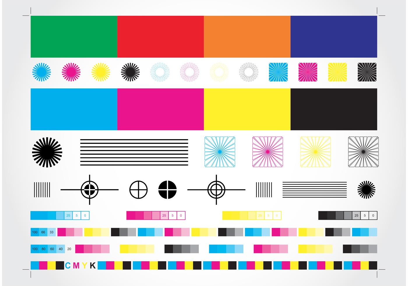 CMYK Chart Download Free Vector Art Stock Graphics Amp Images