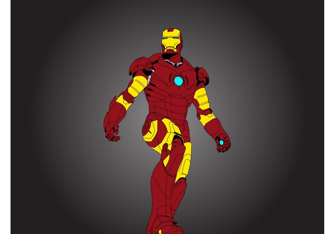 Iron Man Vector