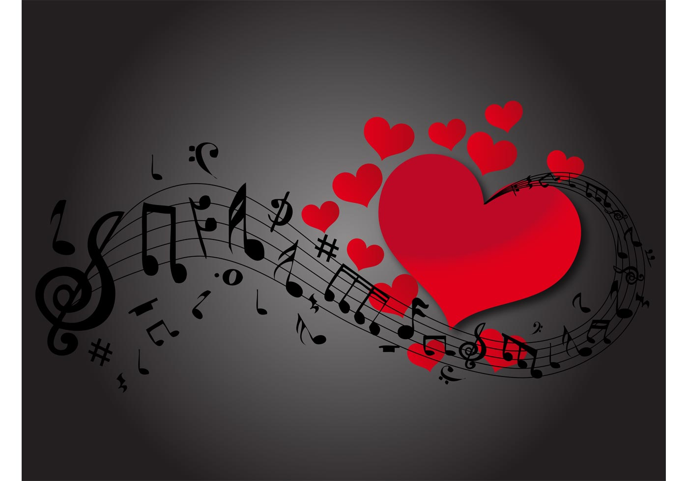 Love Music Download Free Vector Art Stock Graphics Images