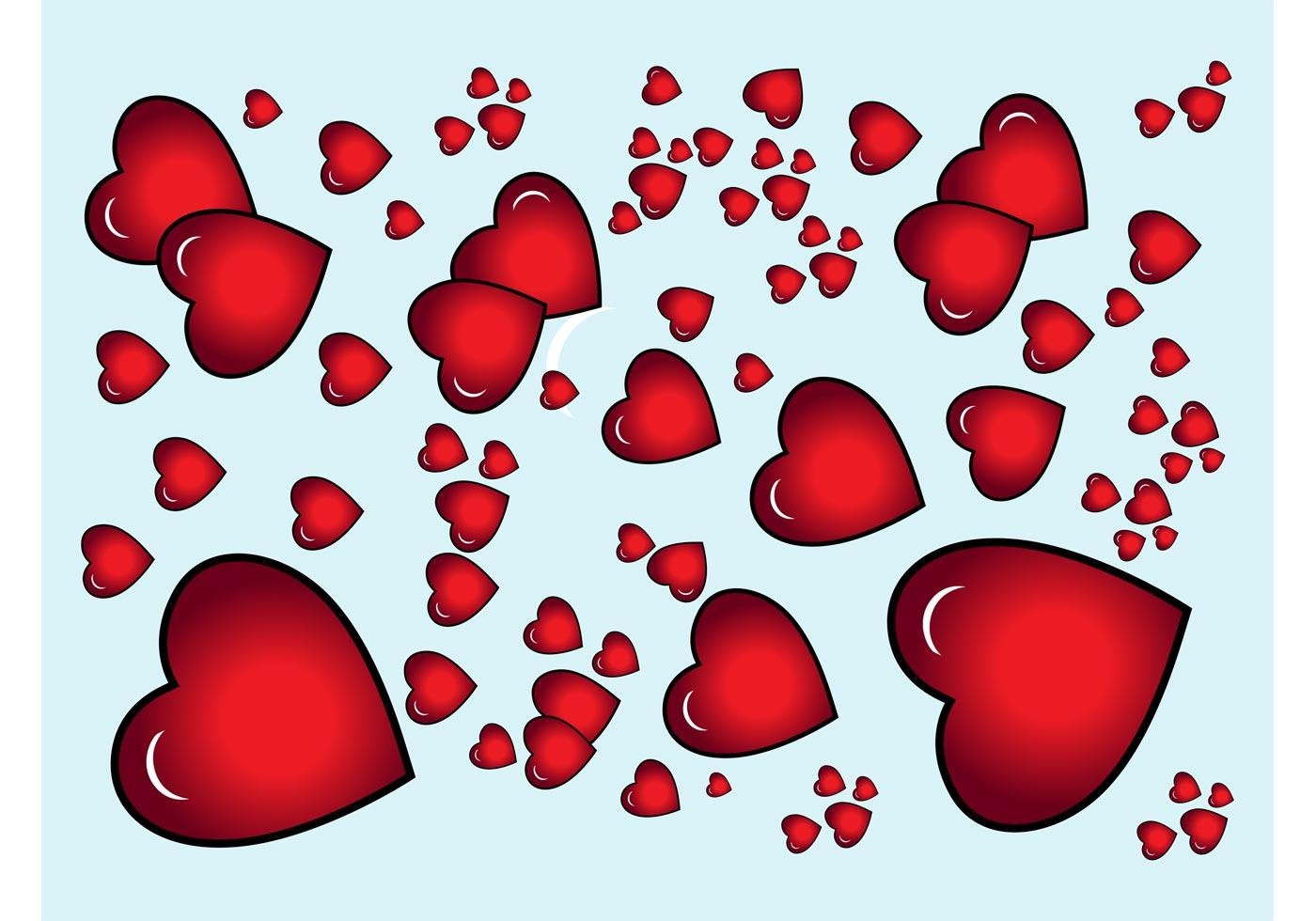 Hearts Vector Download Free Vector Art Stock Graphics