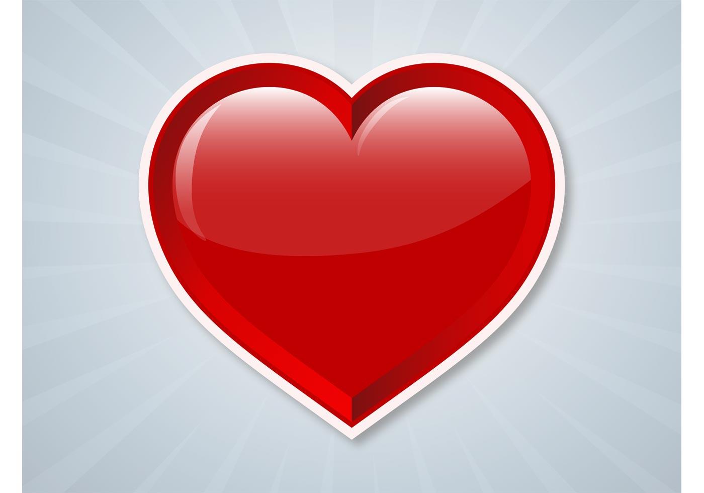 Vector Heart Sticker Download Free Vector Art Stock