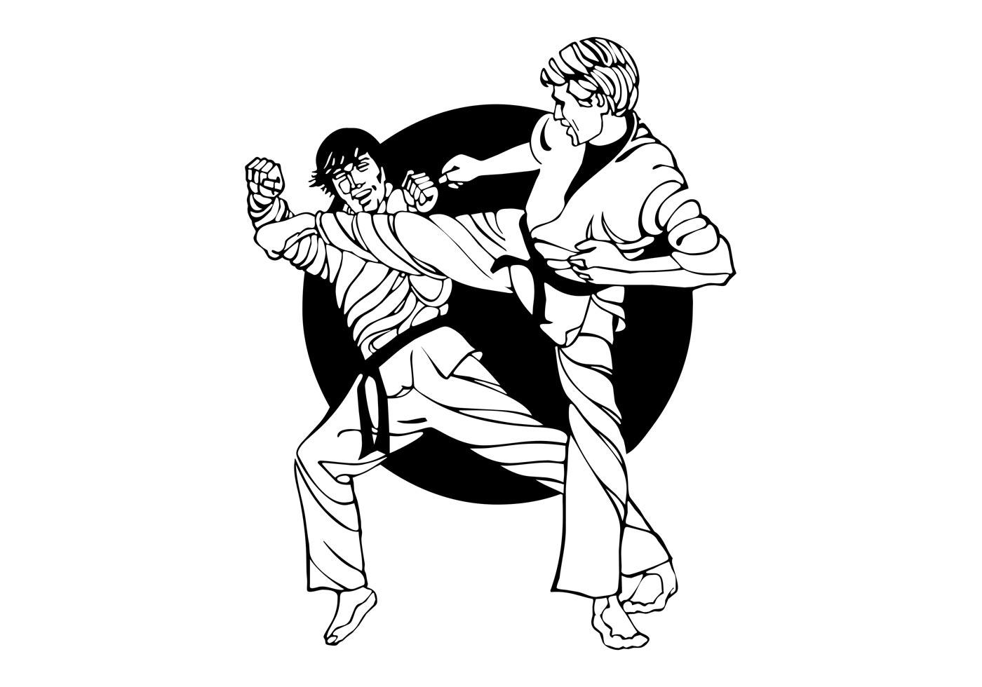 Karate Fight Graphics