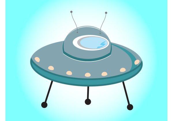 Cartoon Flying Saucer Download Free Vector Art Stock