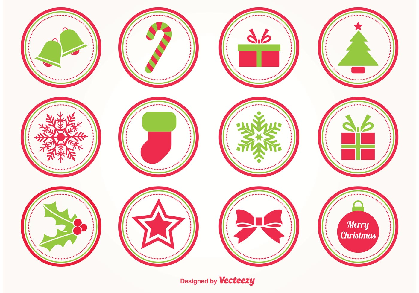 Christmas Vector Stamps Download Free Vector Art Stock