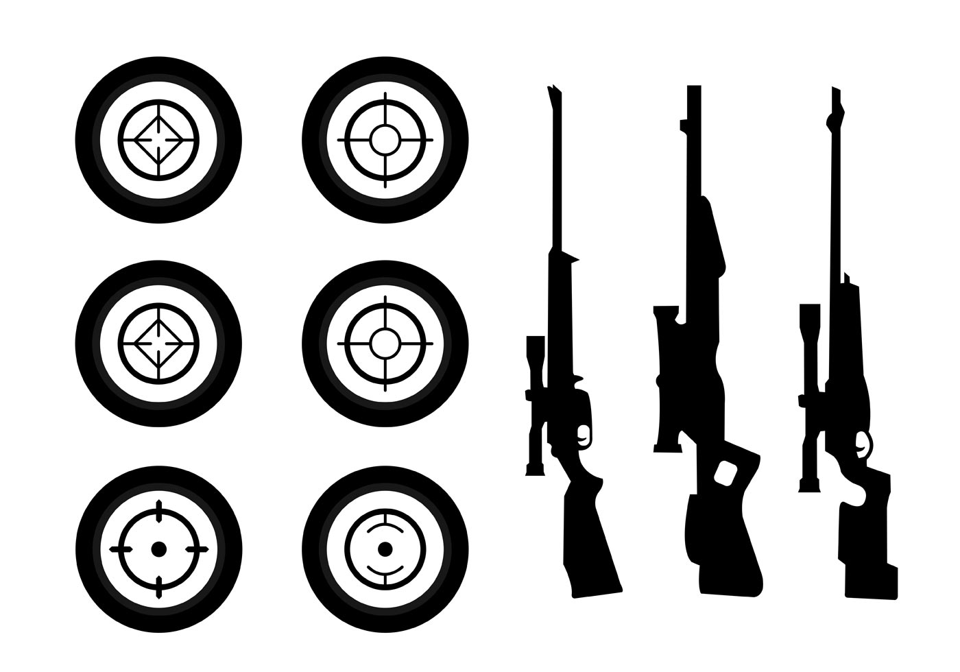 Weapon Silhouette Collection