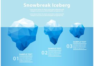 Polygonal Iceberg Underwater  Download Free Vector Art, Stock Graphics & Images