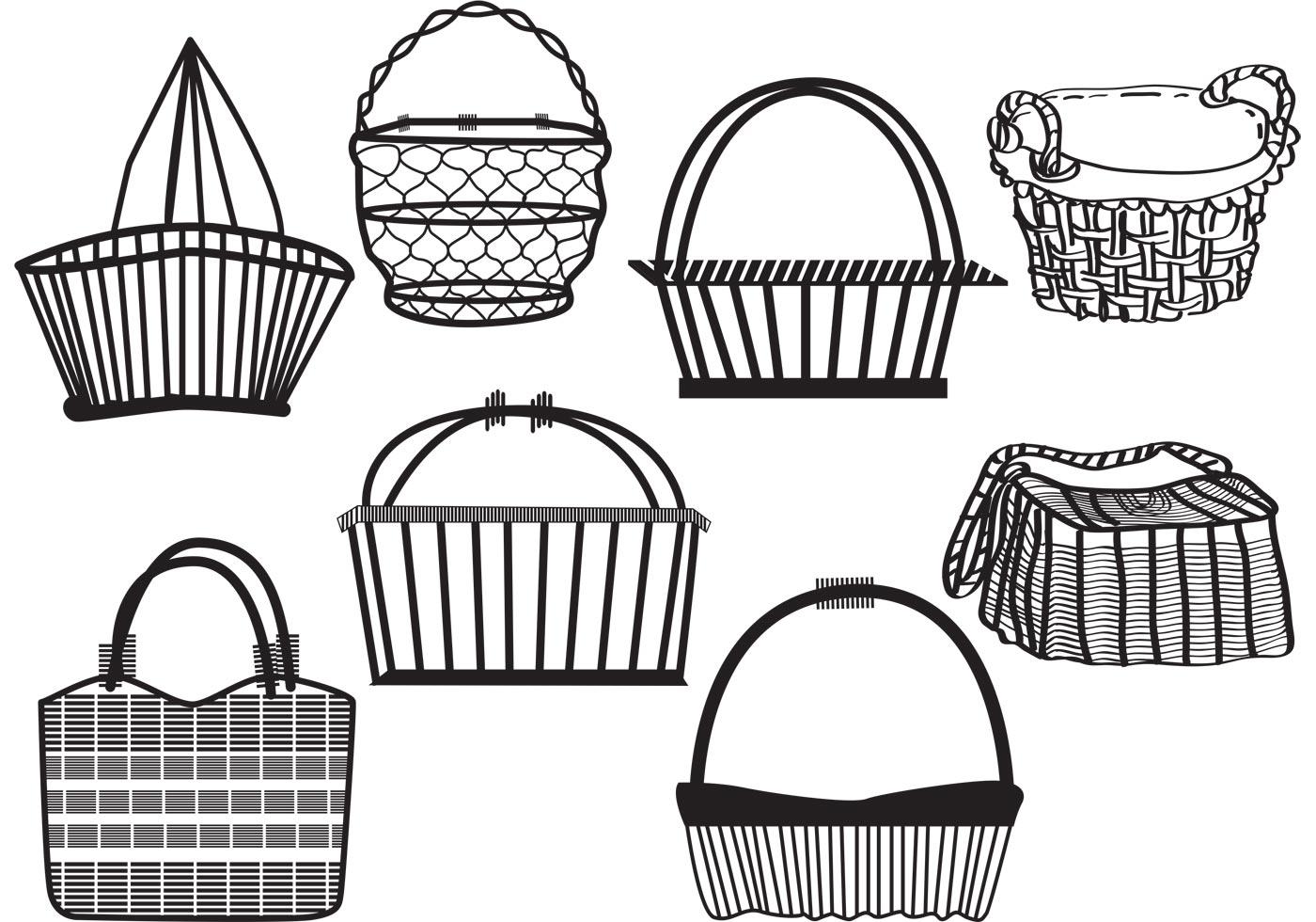 Old Basket Set