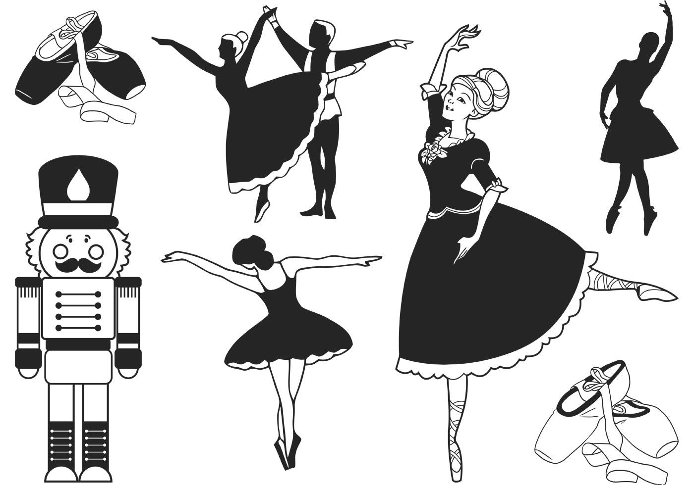 Nutcracker Ballet Vector