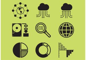 Big Data Icons  Download Free Vector Art, Stock Graphics