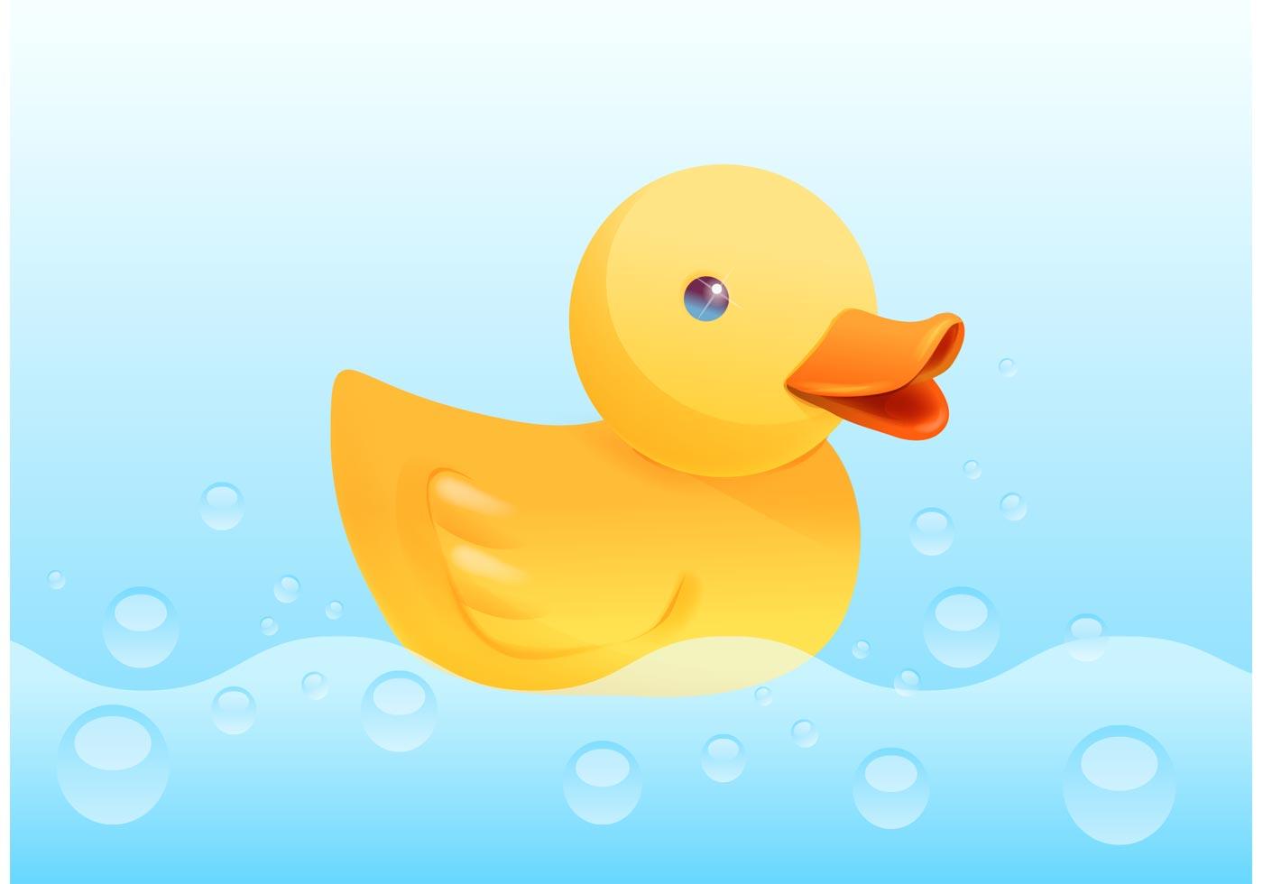 Blue Duck Art Clip Baby