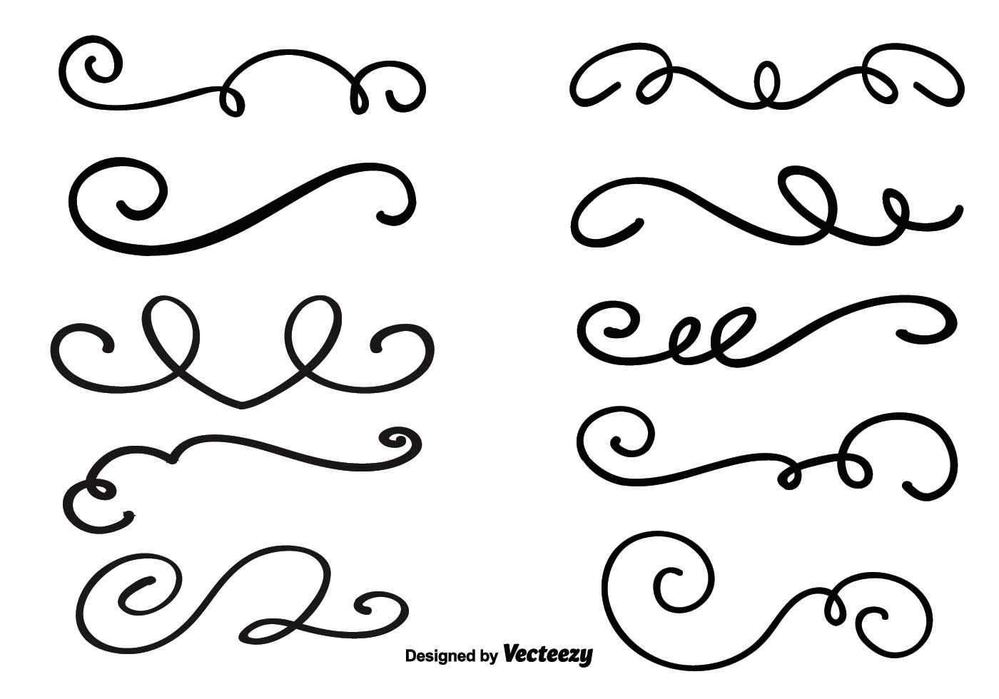 Decorative Vector Swirls