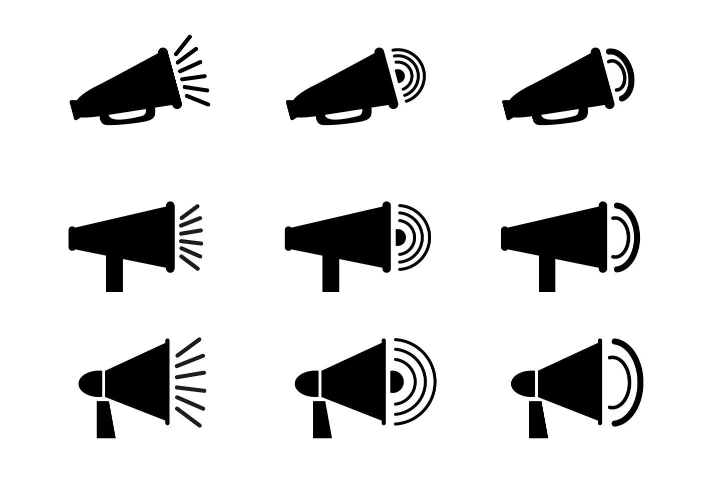 Free Megaphone Icon Vector