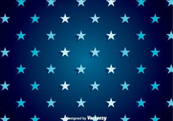 Dark Blue Star Background Vector - Download Free Vectors ...