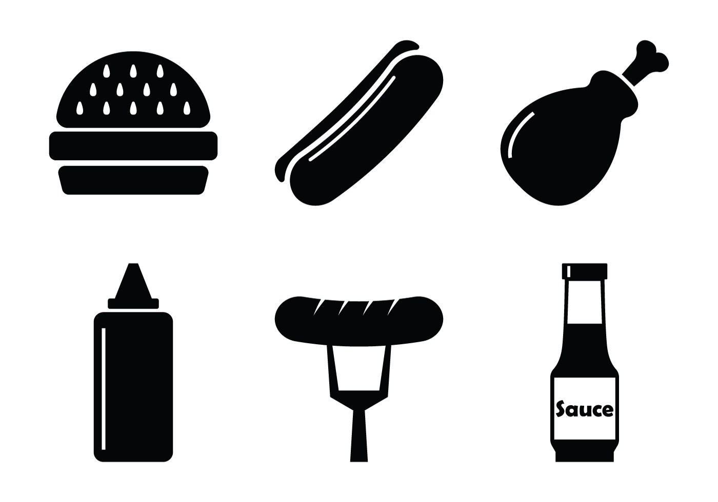 Bbq Vector Icons