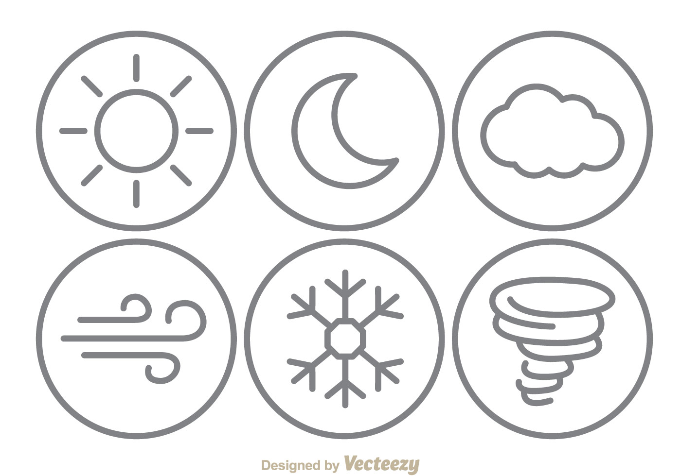 Weather Line Icons