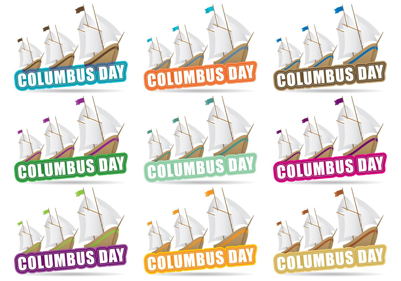 Columbus Day Title