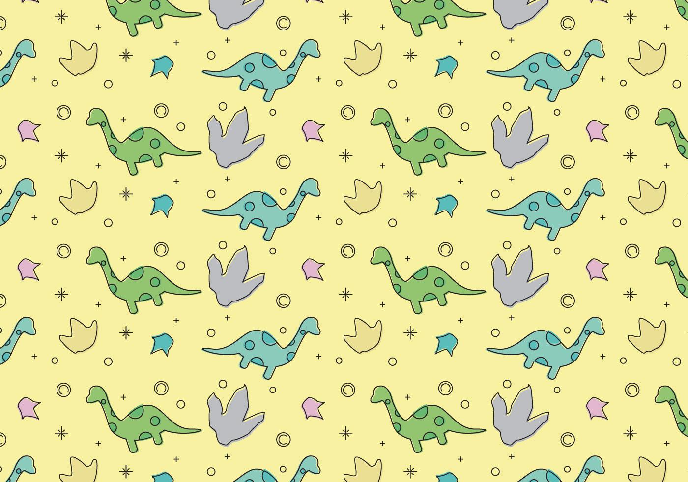 Free Dinosaur Pattern 4