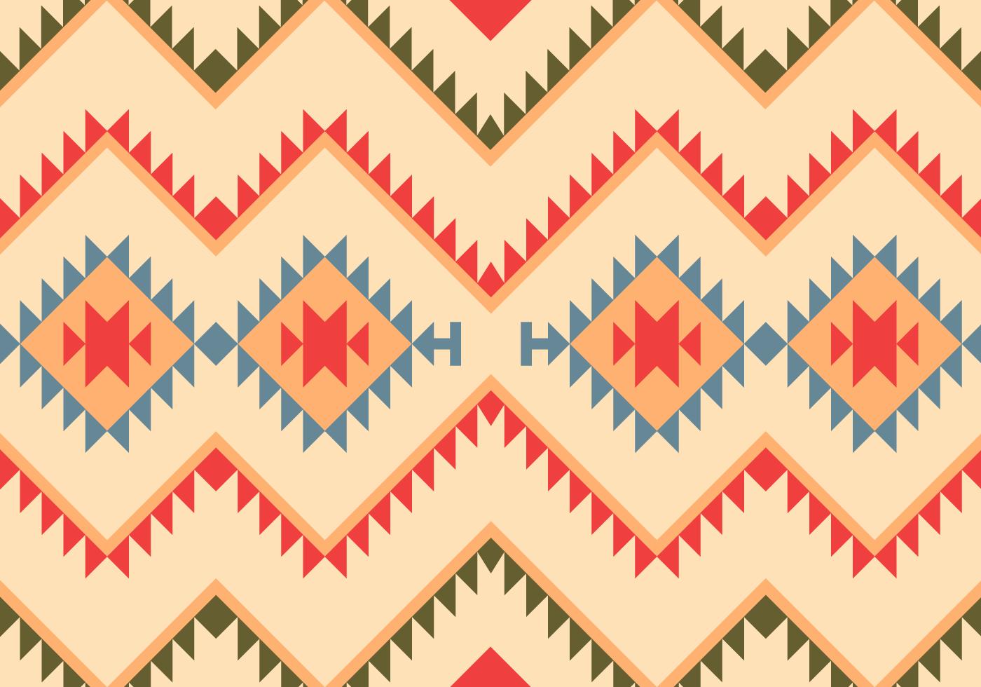 Native american geometric border designs for Native design
