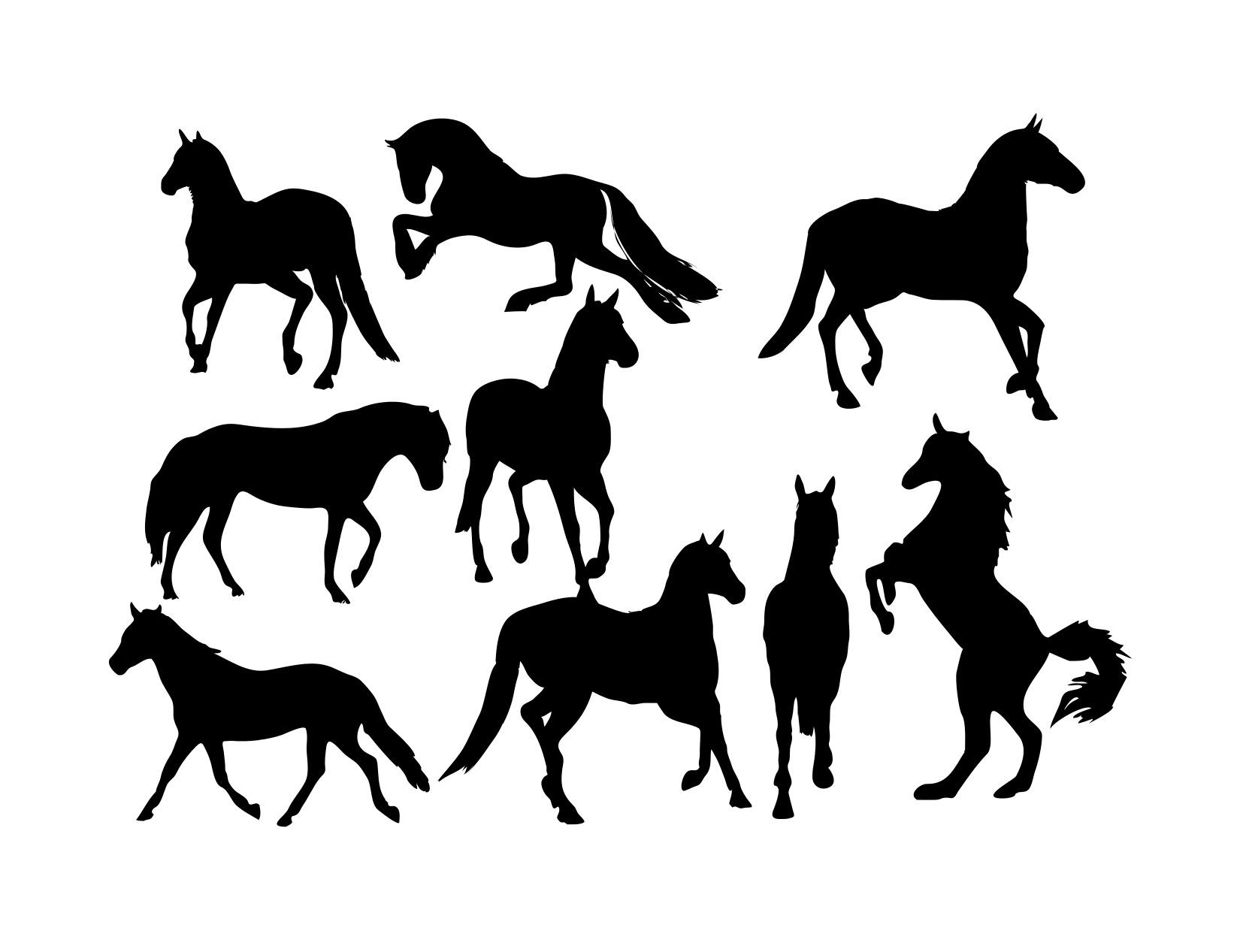 Horse Free Vector Art