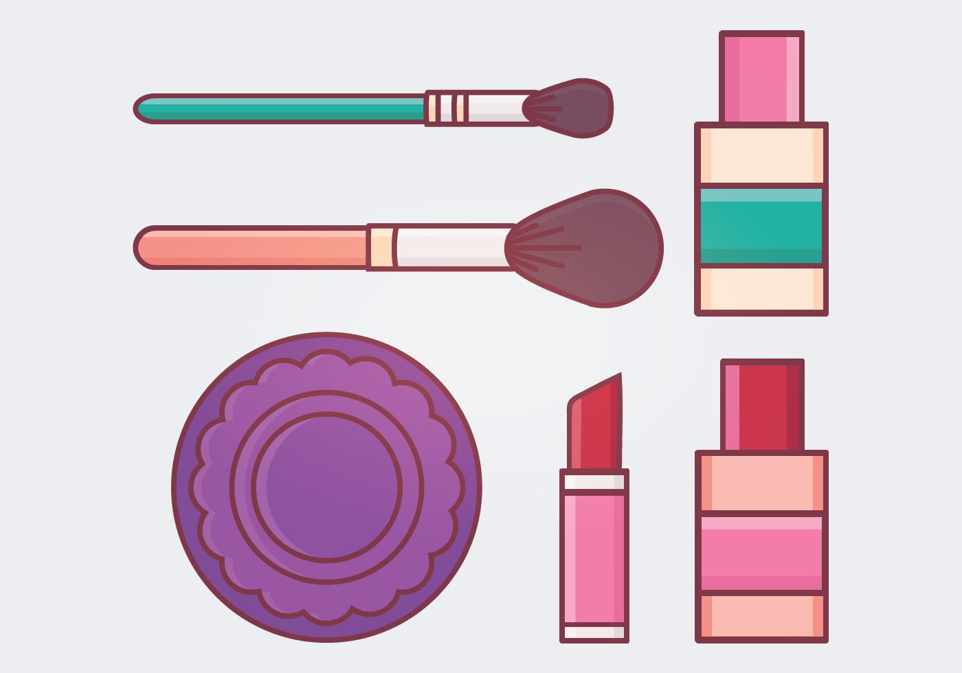 Makeup Vector Illustration Download Free Vector Art