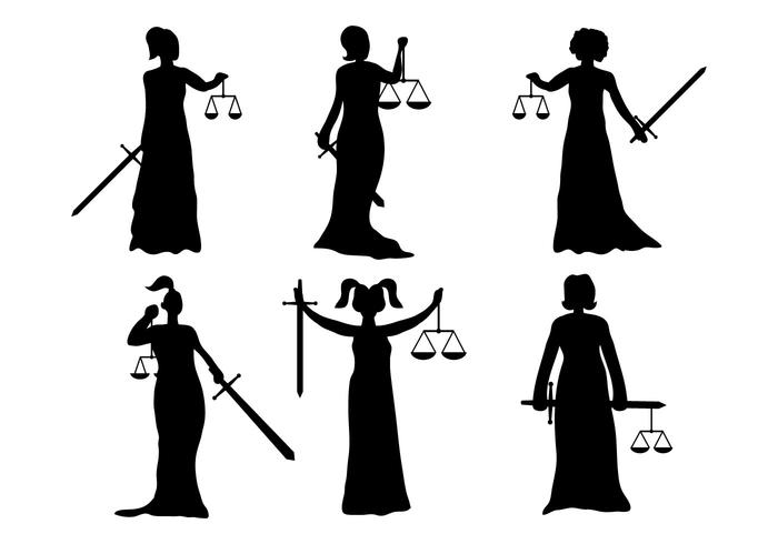 Lady Justice Vector Download Free Vector Art Stock