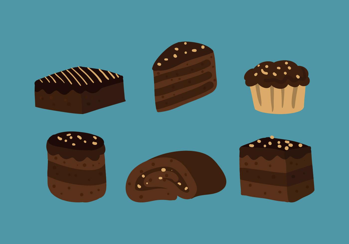 Brownie Vector Download Free Vectors Clipart Graphics
