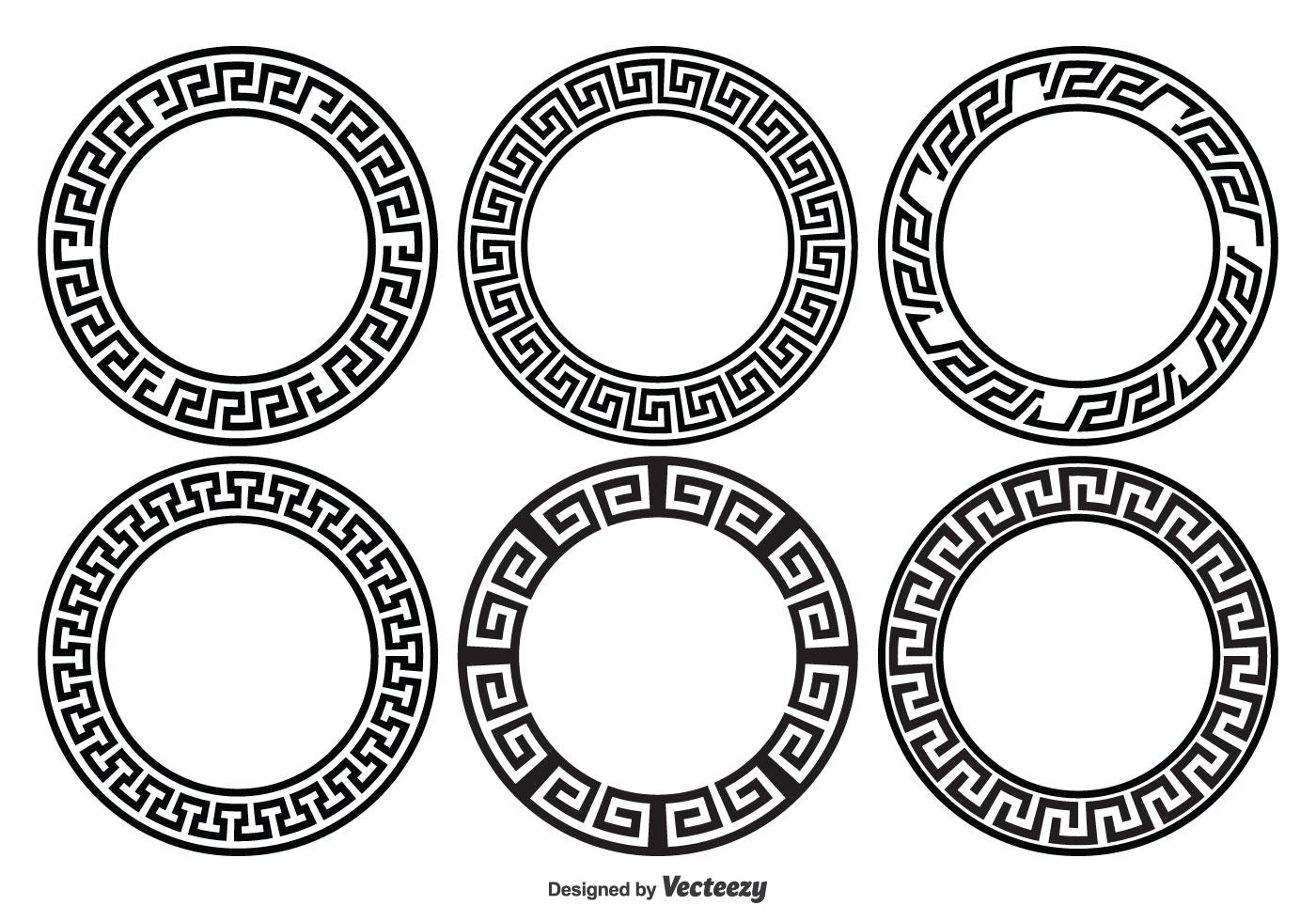 Circle Frame Free Vector Art