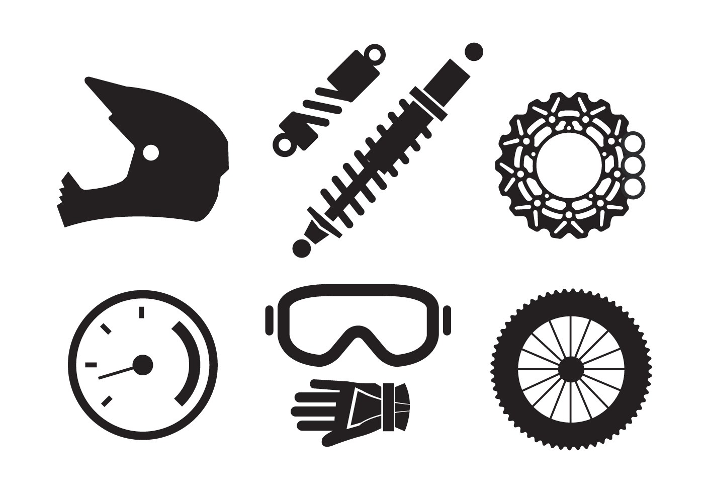 Bicycle Parts Art