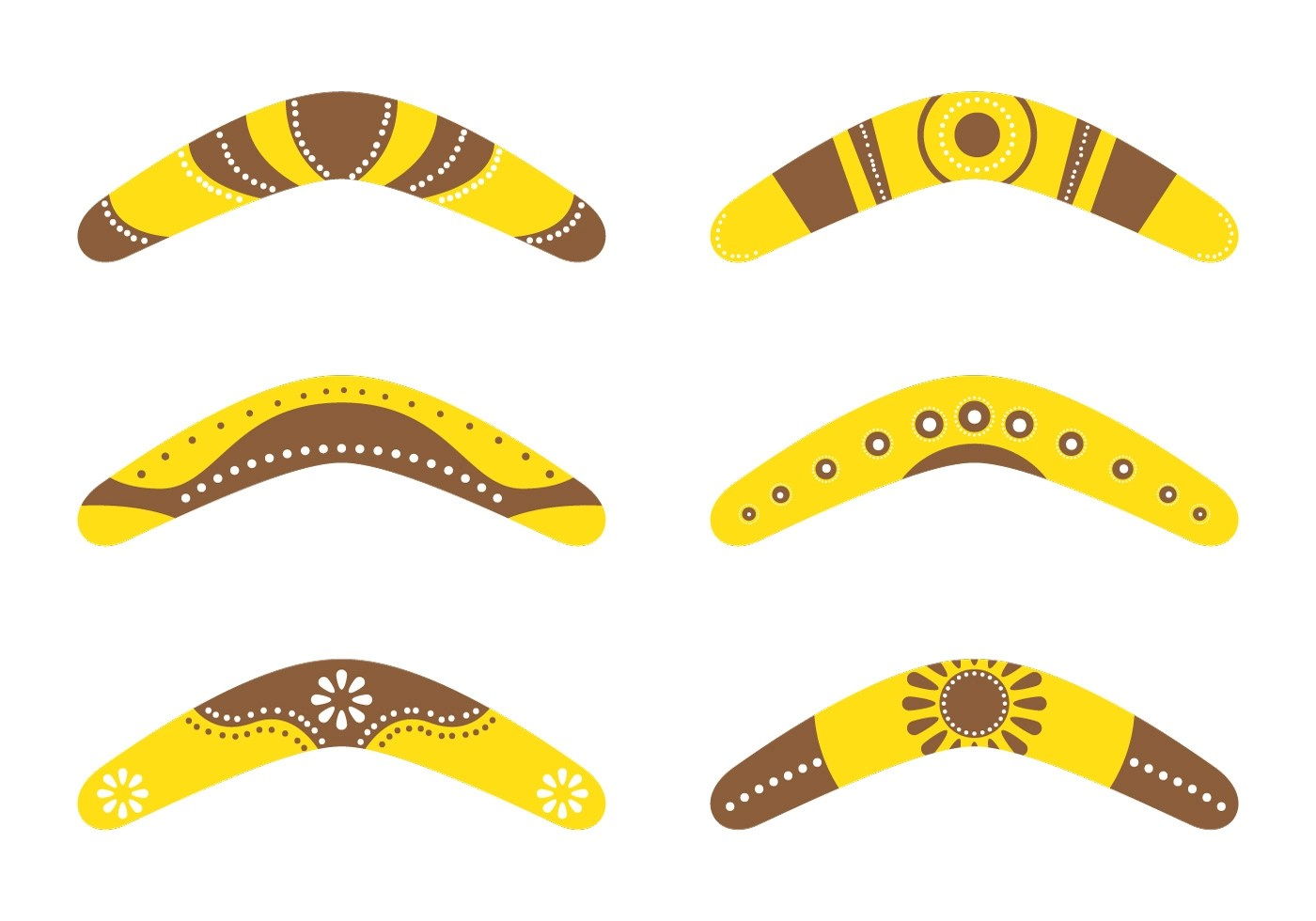 Boomerang Collections Download Free Vector Art Stock