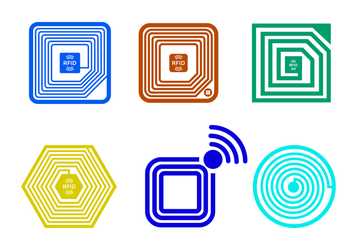Free Rfid Vector Download Free Vector Art Stock