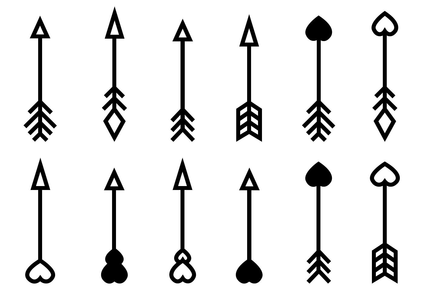 Free Arrow Vector