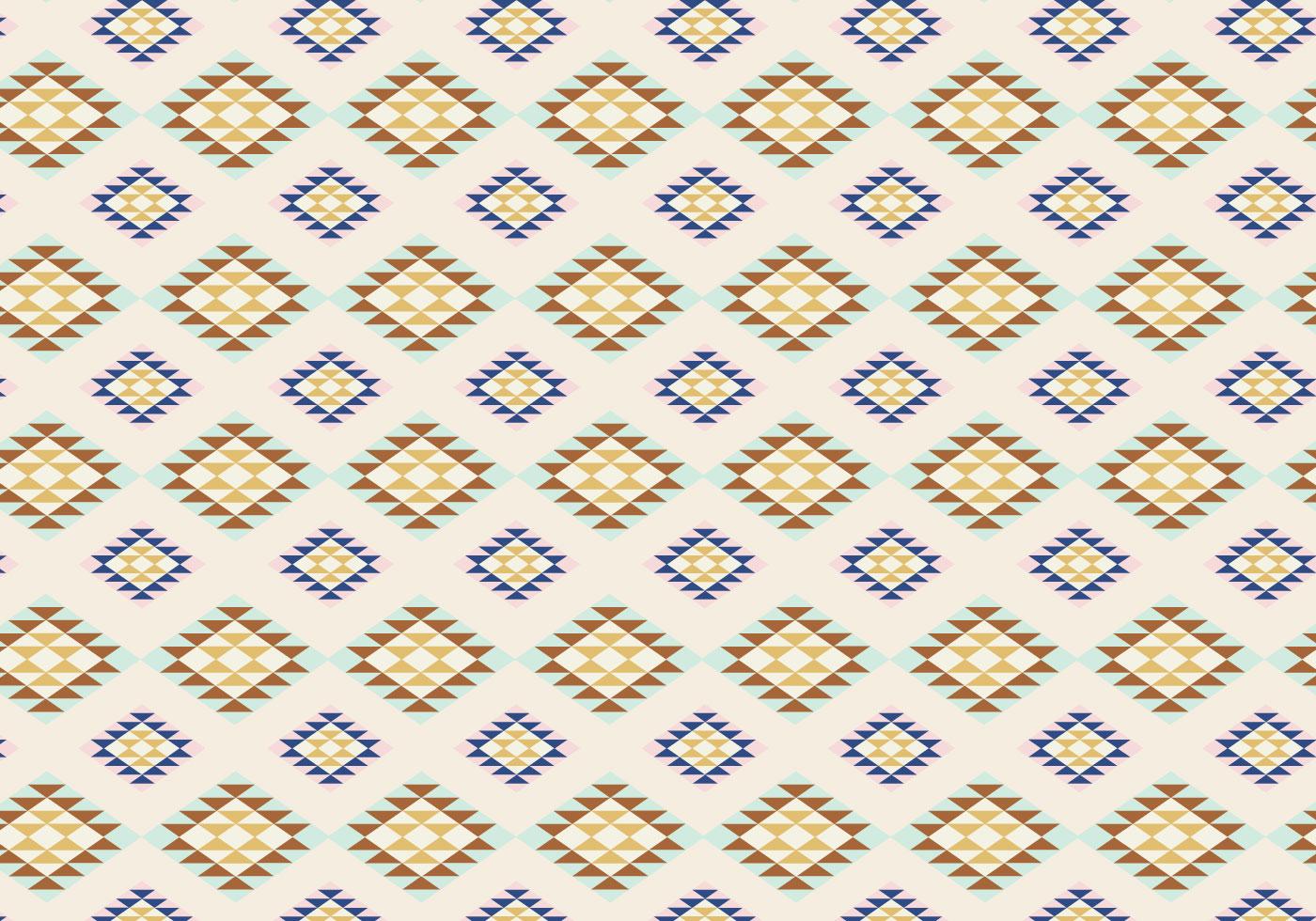 Diamond Pattern Outline