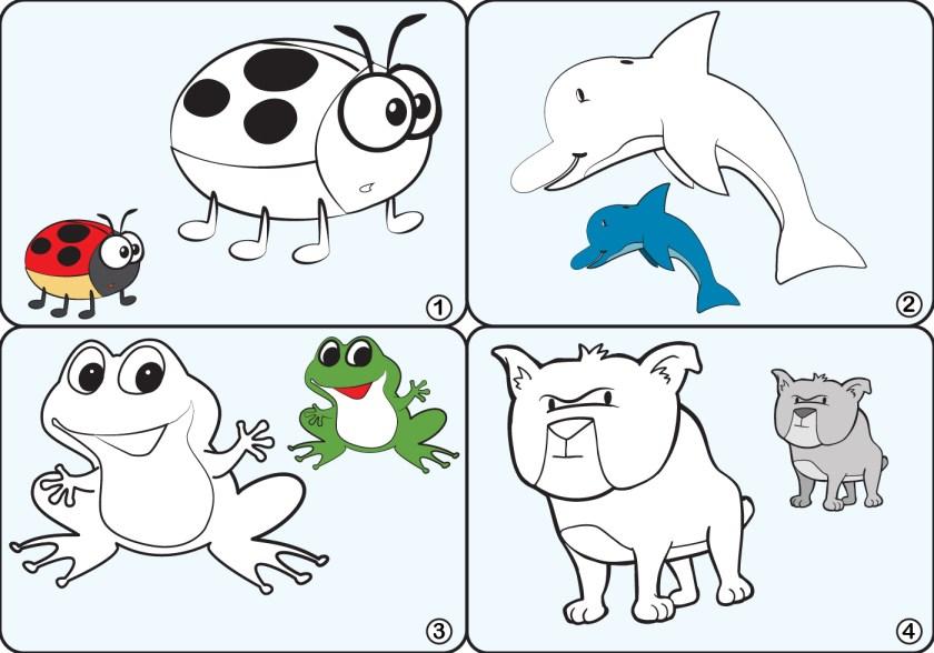 coloring page animal vectors  download free vectors