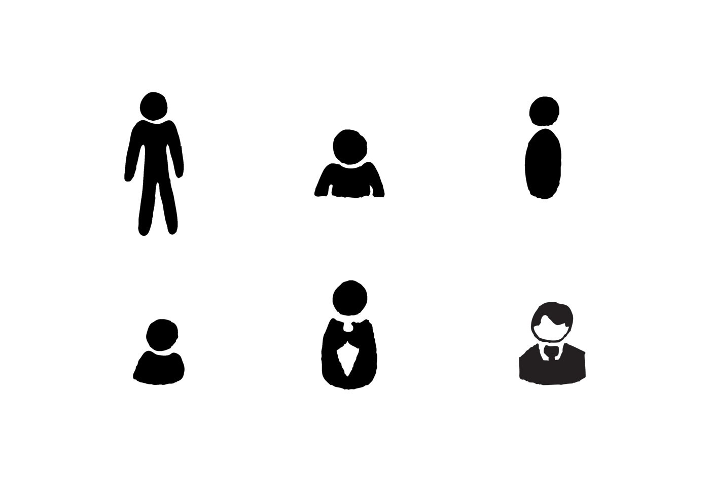 Free Man Icon Vector Series Download Free Vector Art